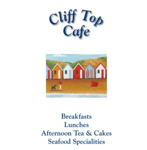 Cliff Top Cafe Menu.
